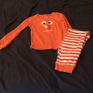 Gymboree Thanksgiving pajamas.